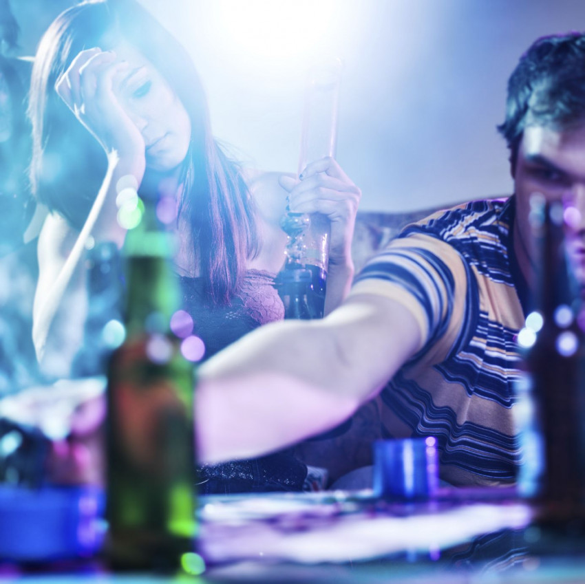 Feest, alcohol en seks